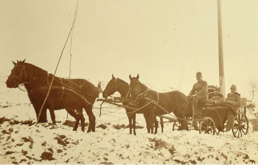 Австрійські солдати, територія Демидівсього району, 1916 р.